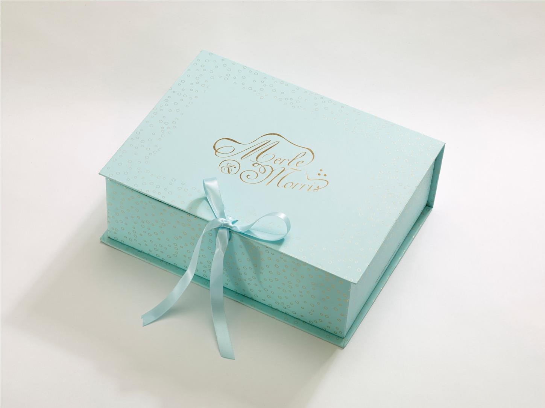 Beautiful Bridal Shoes from Merle & Morris - Box