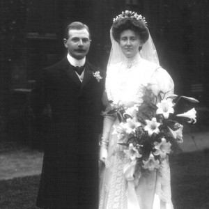 Chic Vintage Edwardian Bride - Evelyn Hickman