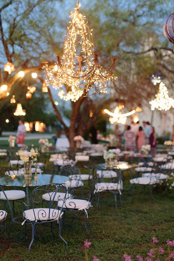 Lighting For Backyard Wedding : 20 of the most beautiful reception lighting ideas