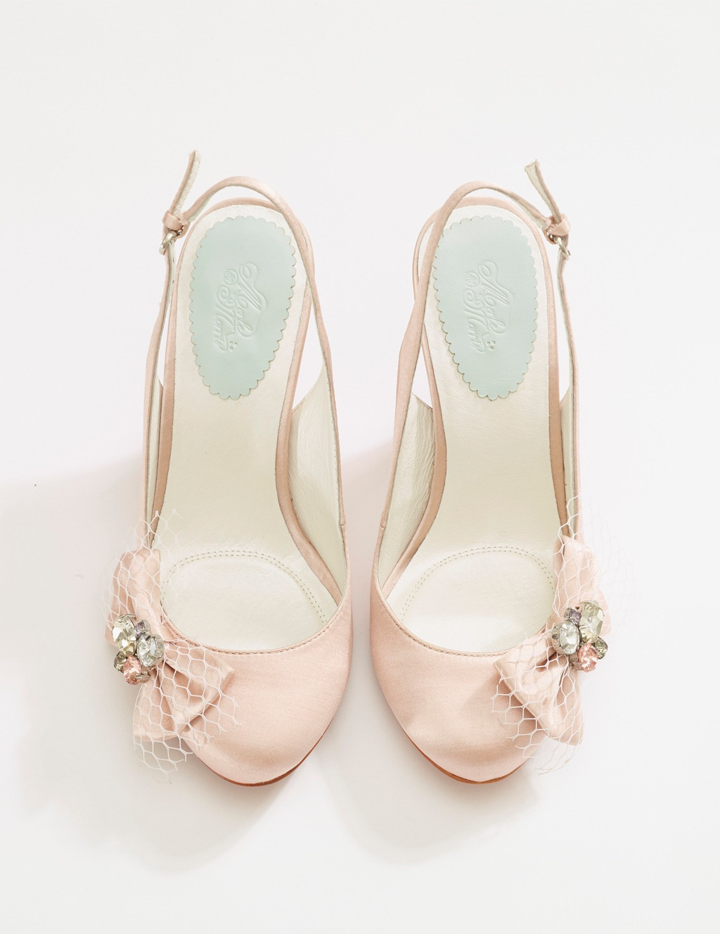 Beautiful Bridal Shoes from Merle & Morris - Iris