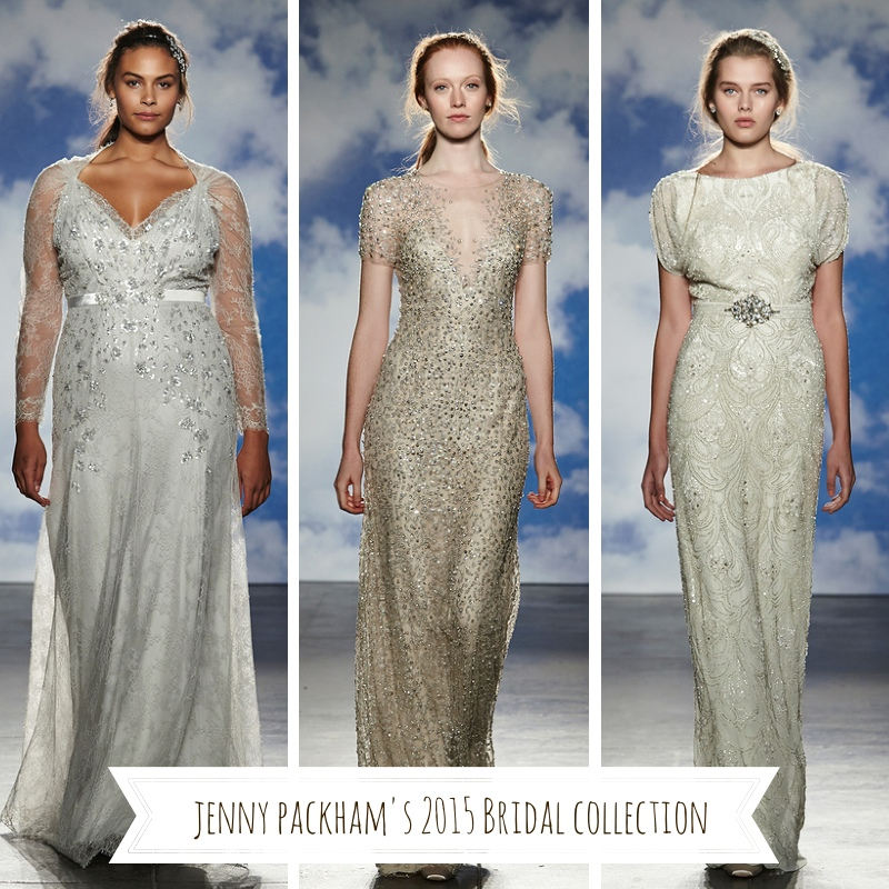Jenny Packhams 2015 Bridal Collection