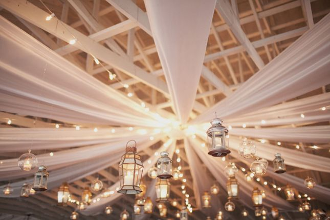 20 Reception Lighting Ideas - Lanterns