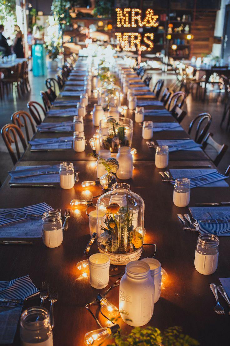 20 Beautiful Reception Lighting Ideas - Light Bulbs