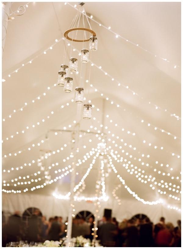 20 Beautiful Reception Lighting Ideas - Mason Jars