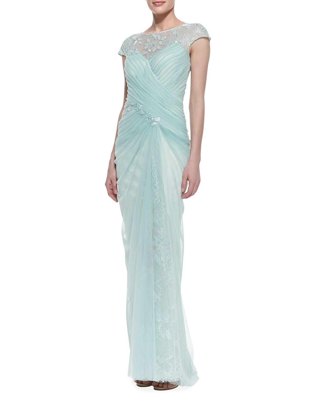 Mint Tadashi Shoji Dress