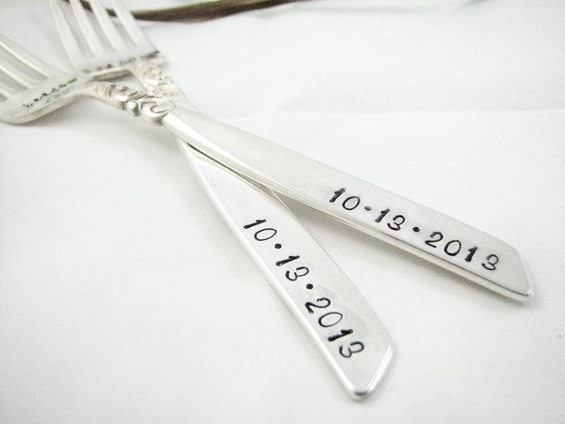 Mr & Mrs Forks Date Stamped