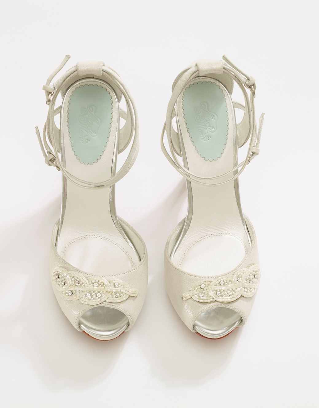 Beautiful Bridal Shoes from Merle & Morris - Myrtle