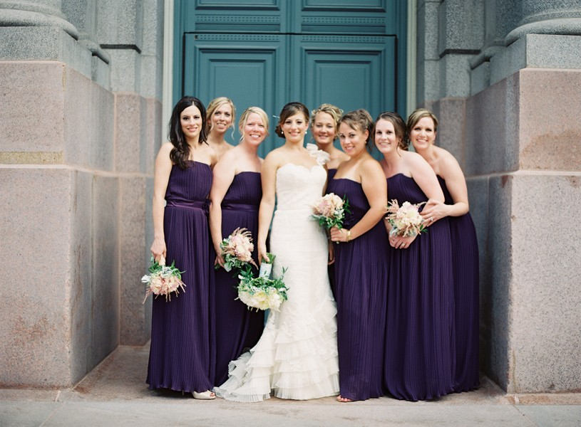 Beautiful Bridesmaids Trends - Pleats