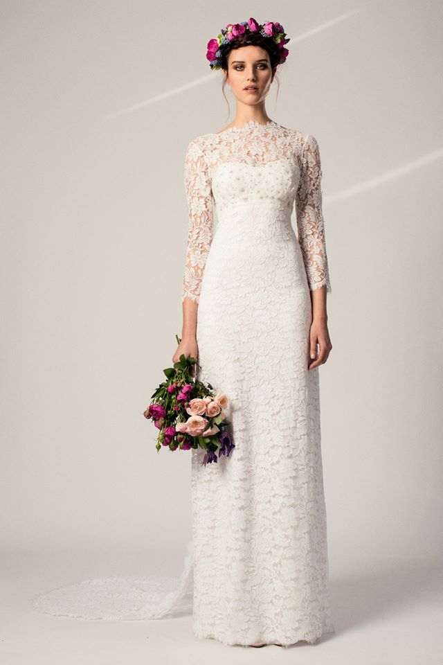 Temperley London April Wedding Dress from the Iris Collection