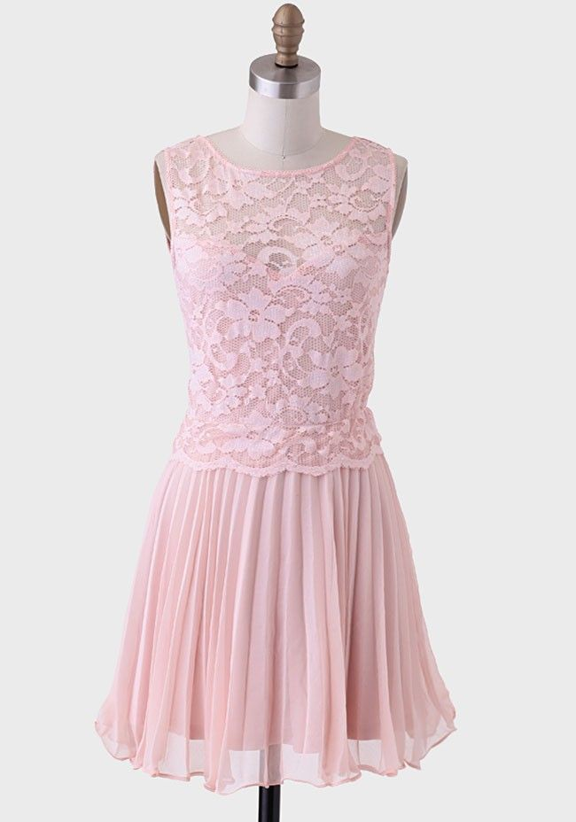 City Of Love Pleated Dress