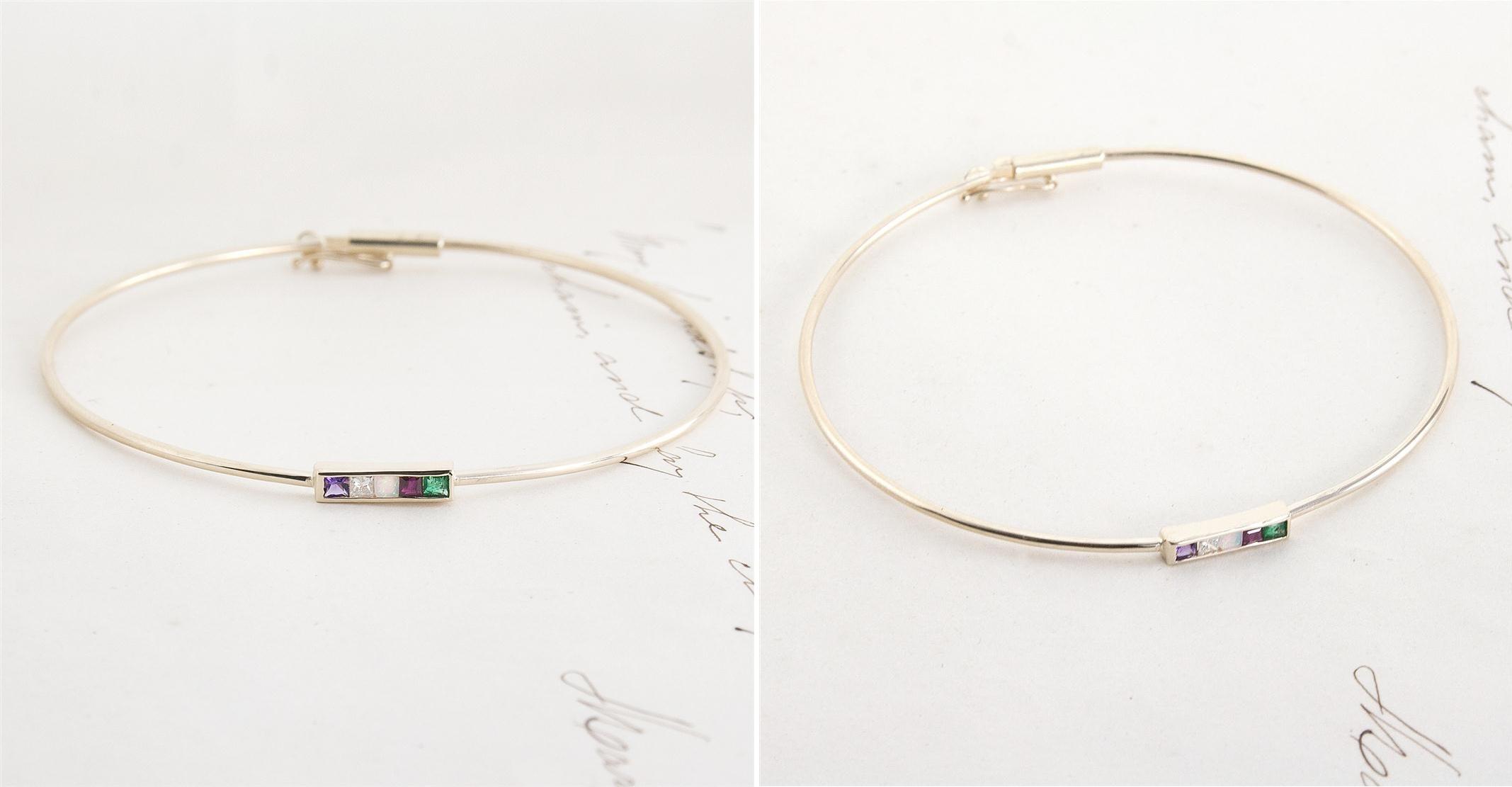 Erica Weiner's 1909 ADORE Bracelet