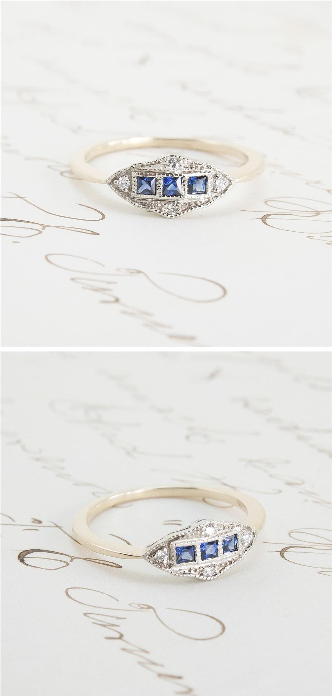 Erica Weiner 1909 Machine Age Ring