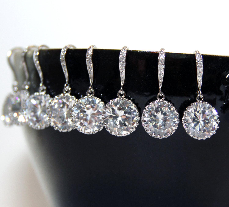 Bridesmaids Earrings by Glitz & Love