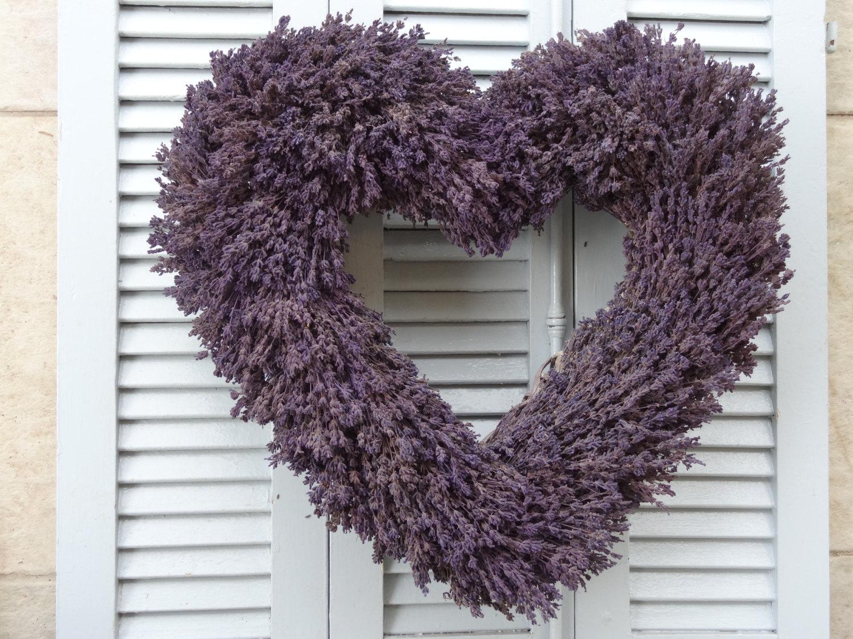 Dried Lavender Wedding Wreath