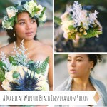A Magical Winter Beach Inspiration Shoot from Kirill Bordon Photography
