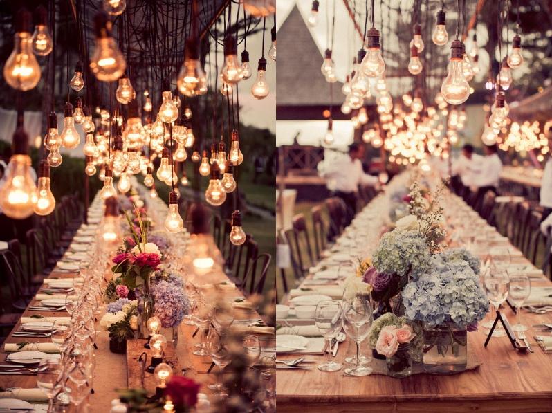 20 Beautiful Reception Lighting Ideas - Lightbulbs