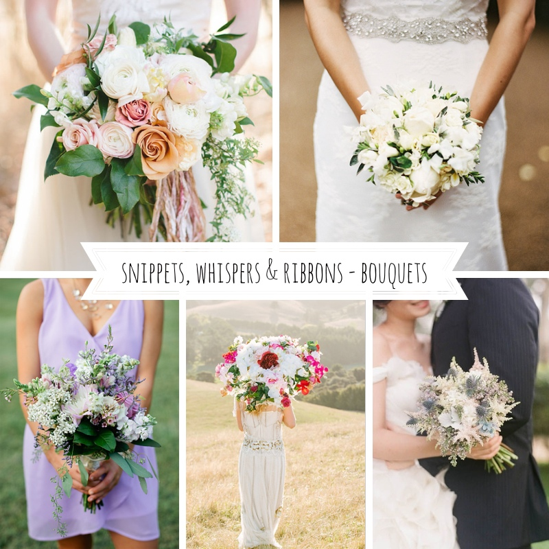 Snippets, Whispers & Ribbons - Bouquets