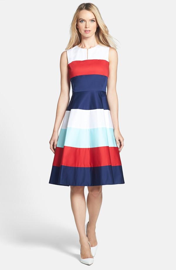 Bold Striped Dress