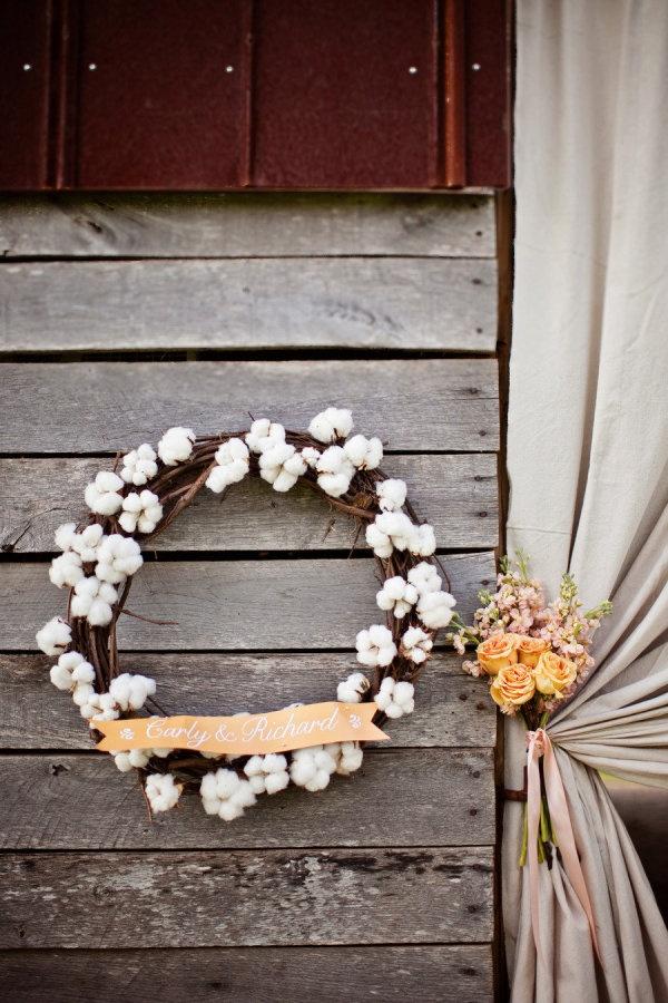Winter Wedding Wreath