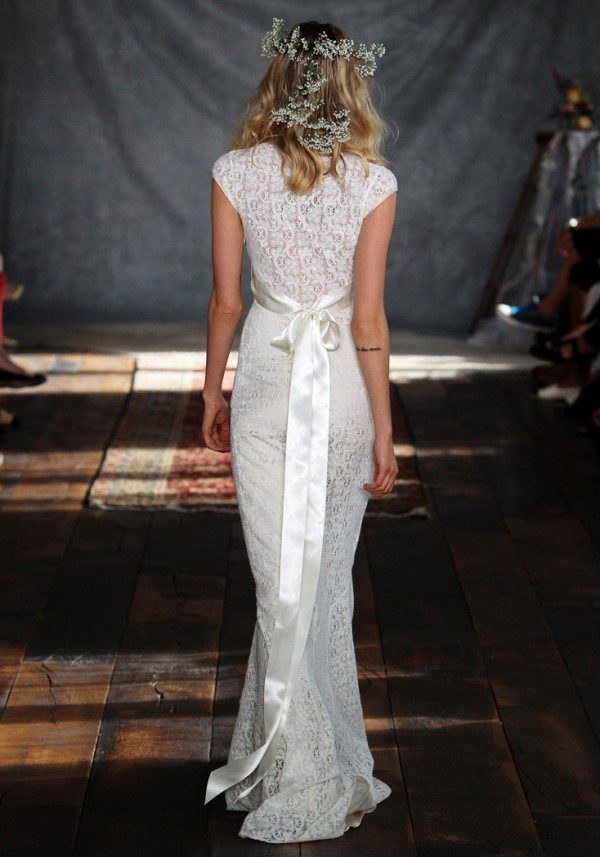 Romantique Claire Pettibone's 2015 Wedding Dress Collection - Yolanda