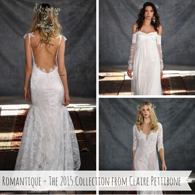 Romantique - The 2015 Bridal Collection from Claire Pettibone