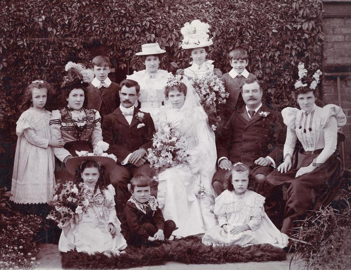 Chic Vintage Edwardian Bride - Florence Savage