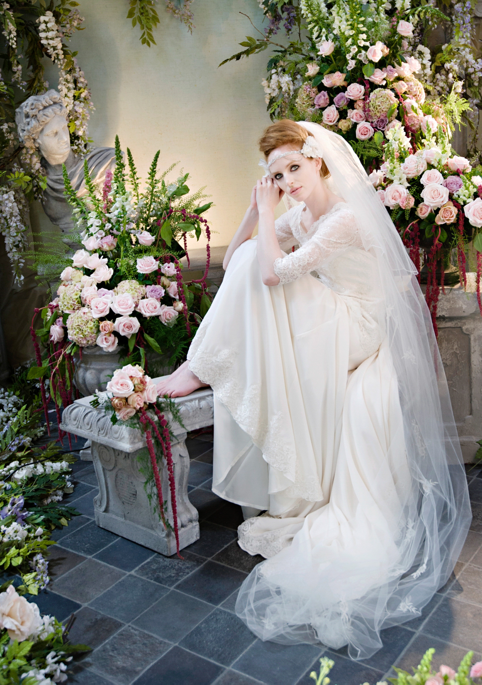 Entice Wedding Dress from Terry Fox's Siren Song Collection