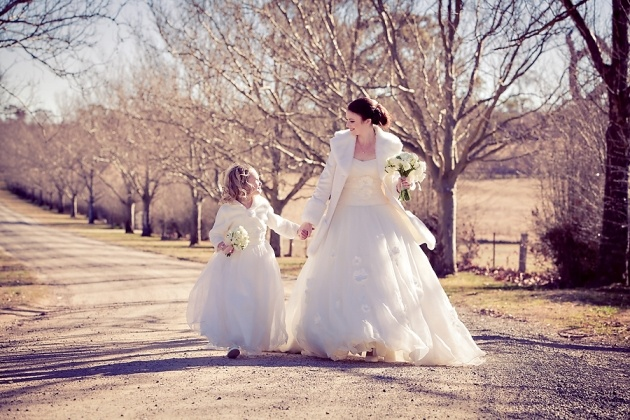 Snippets, Whispers & Ribbons - Flower Girls