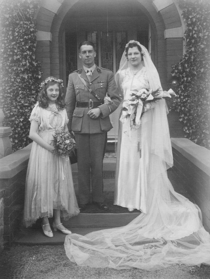 Chic Vintage 1940s Wedding - Joan & Jean
