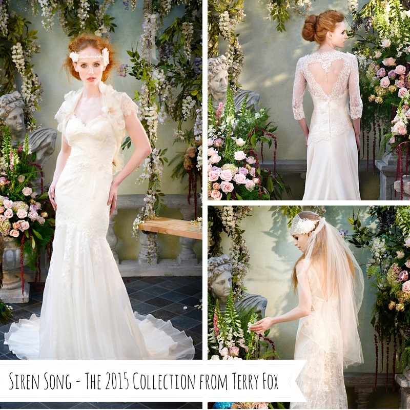 Siren Song - The Enchanting 2015 Collection of Bridal Gowns from Terry Fox