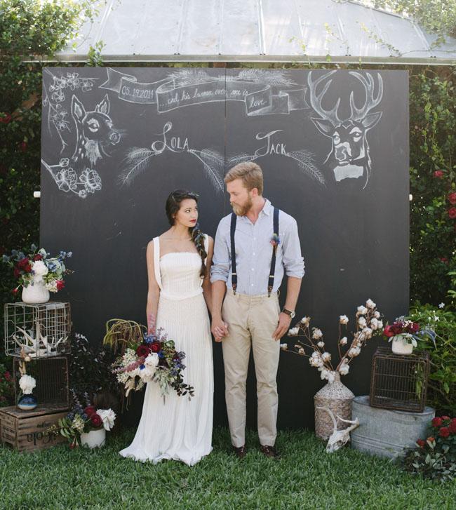 Red, White & Blue Wedding Inspiration