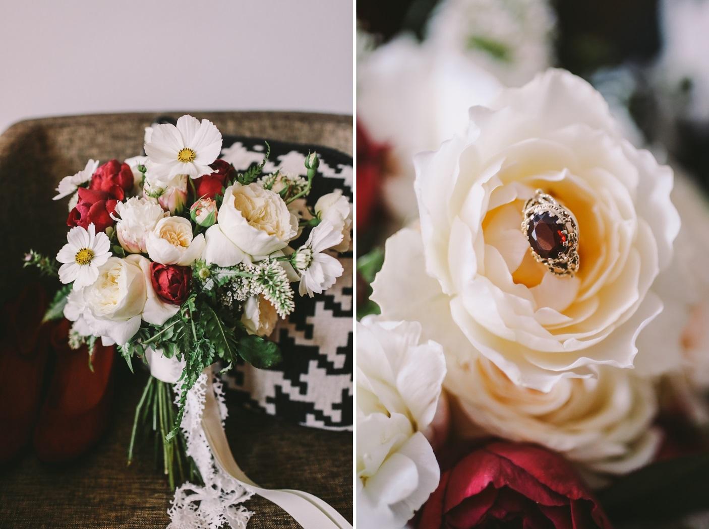 A Bold & Beautiful Vintage Inspired Wedding from Lara Hotz Photography