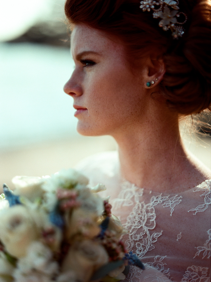 Beautiful Beach Bridal Inspiration Shoot from Kirill Bordon Photography