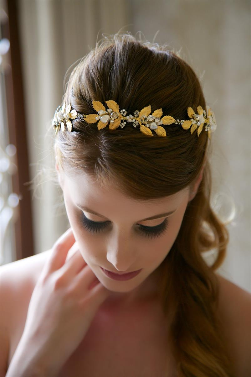 Glamorous Bridal Headpieces from Gilded Shadows - Crystal Headpiece