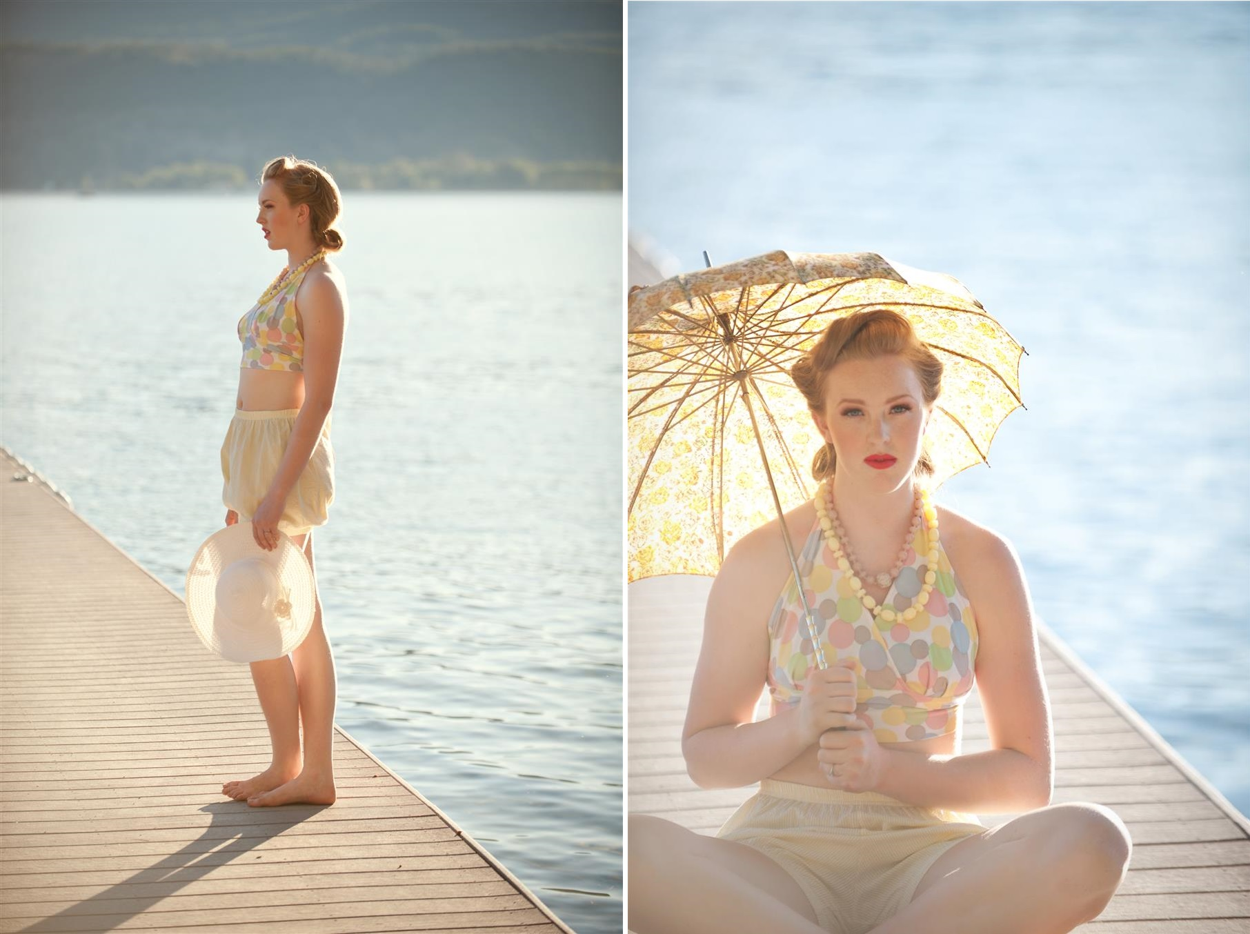 Vintage Honeymoon Fashion Inspiration Shoot