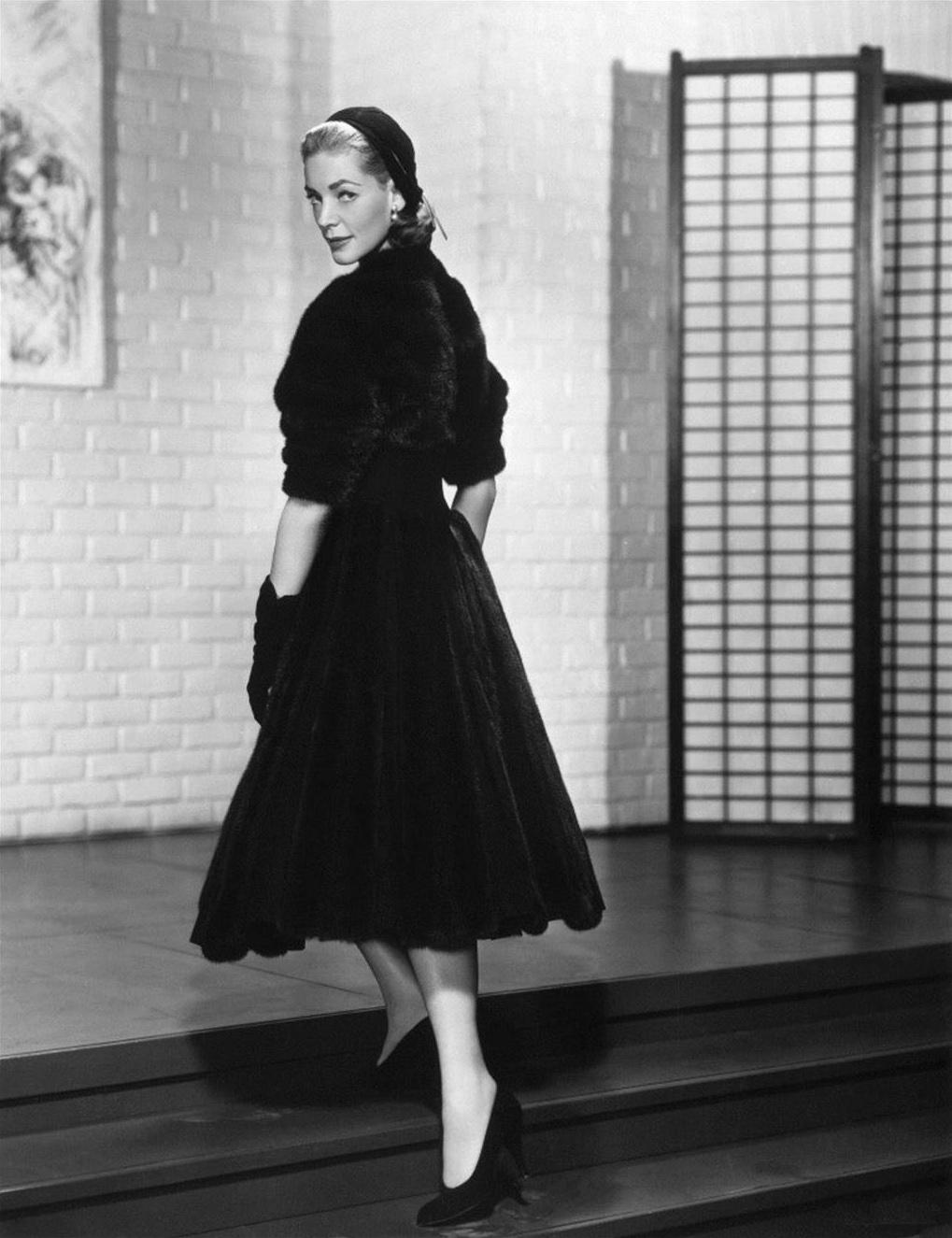 Lauren Bacall style
