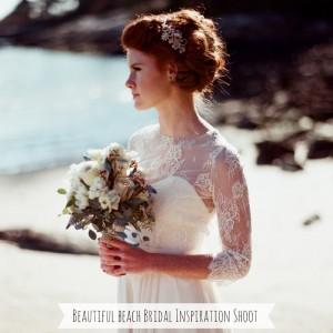 Beautiful Beach Bridal Inspiration Shoot