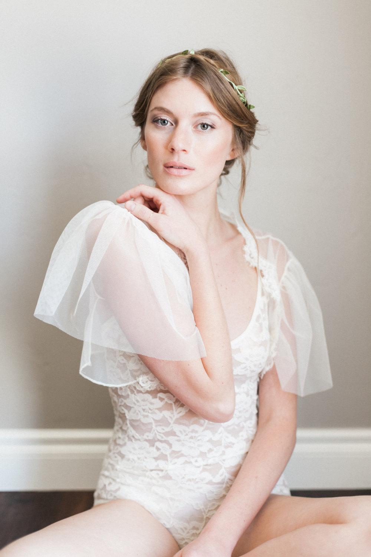 Mignonne Handmade's 2014 Bridal Accessories - Bettina Bolero