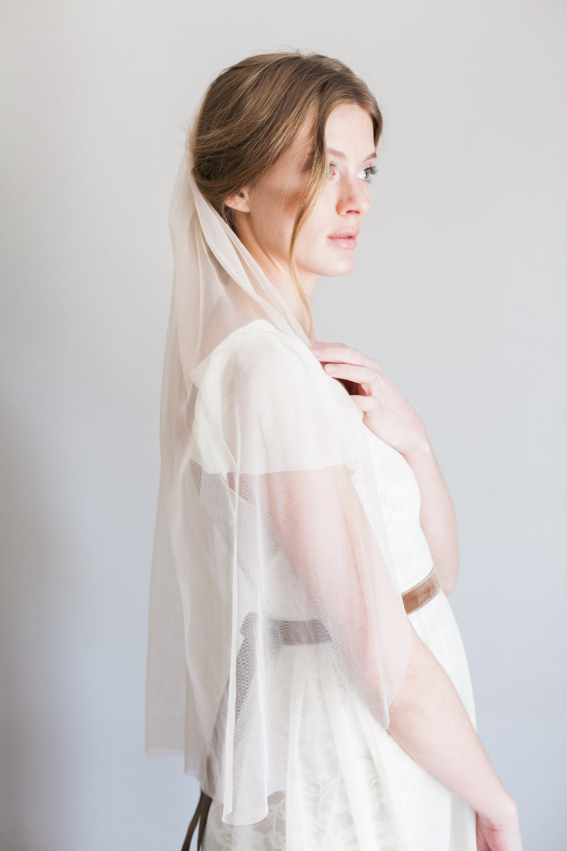 Vintage veils from Mignonne Handmade - Blush Veil
