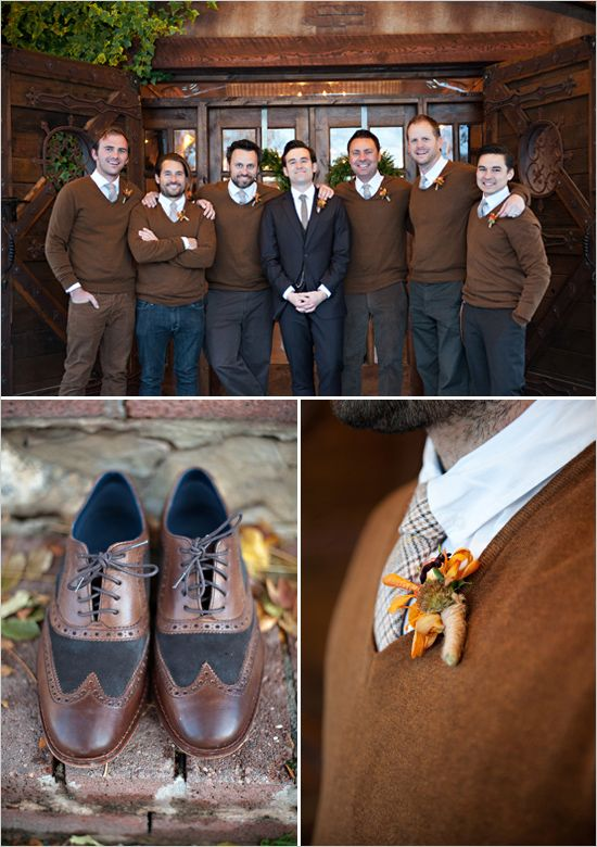 10 Ways to Style Your Groom Vintage - Brogues