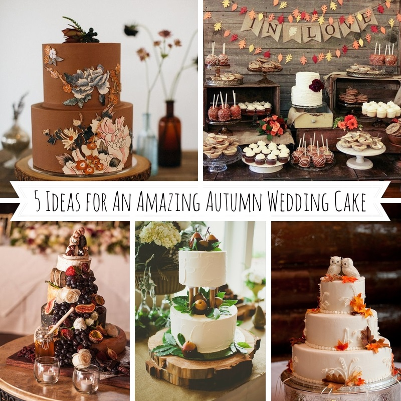 Fall Vintage Wedding Ideas: 5 Ideas For Amazing Autumn Wedding Cakes : Chic Vintage Brides