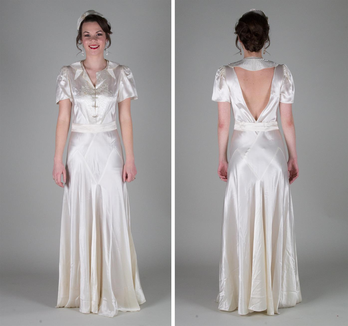 dreamy vintage wedding dresses from authentic vintage