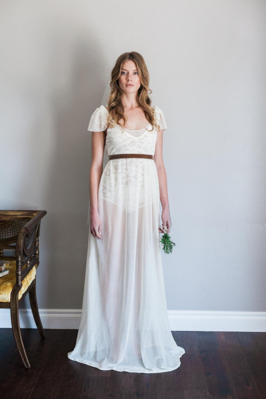 Mignonne Handmade's 2014 Bridal Accessories - Emma Dress