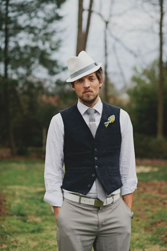 10 Ways To Style Your Groom Vintage Hats
