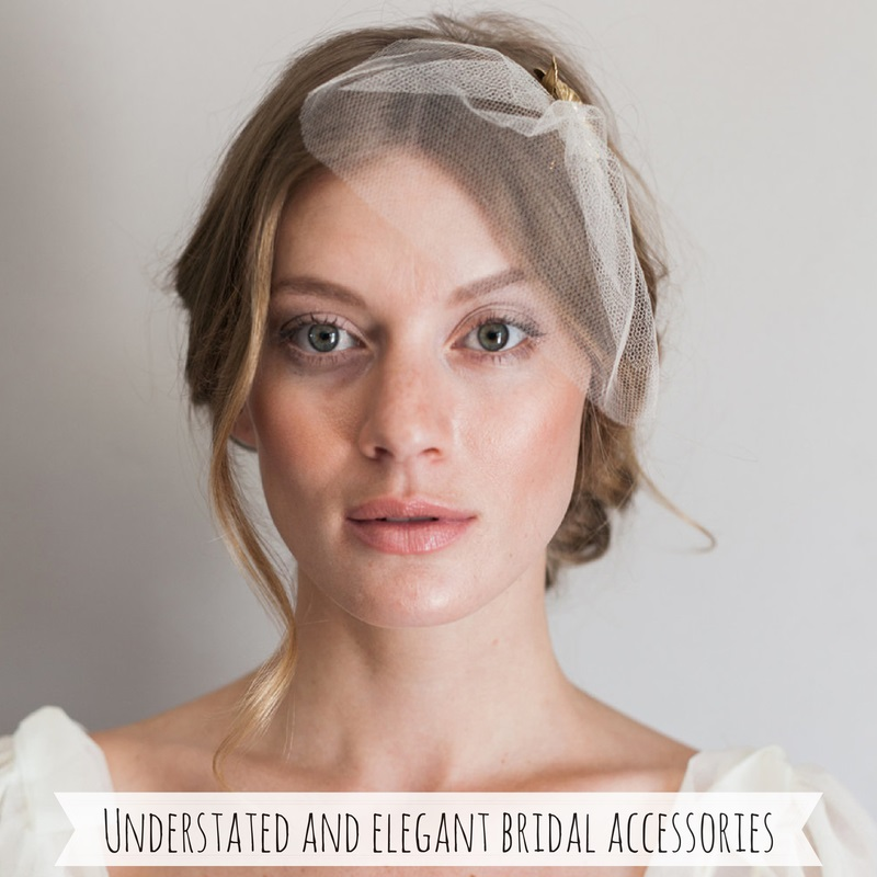 Understated & Elegant Vintage Bridal Accessories from Mignonne Handmade