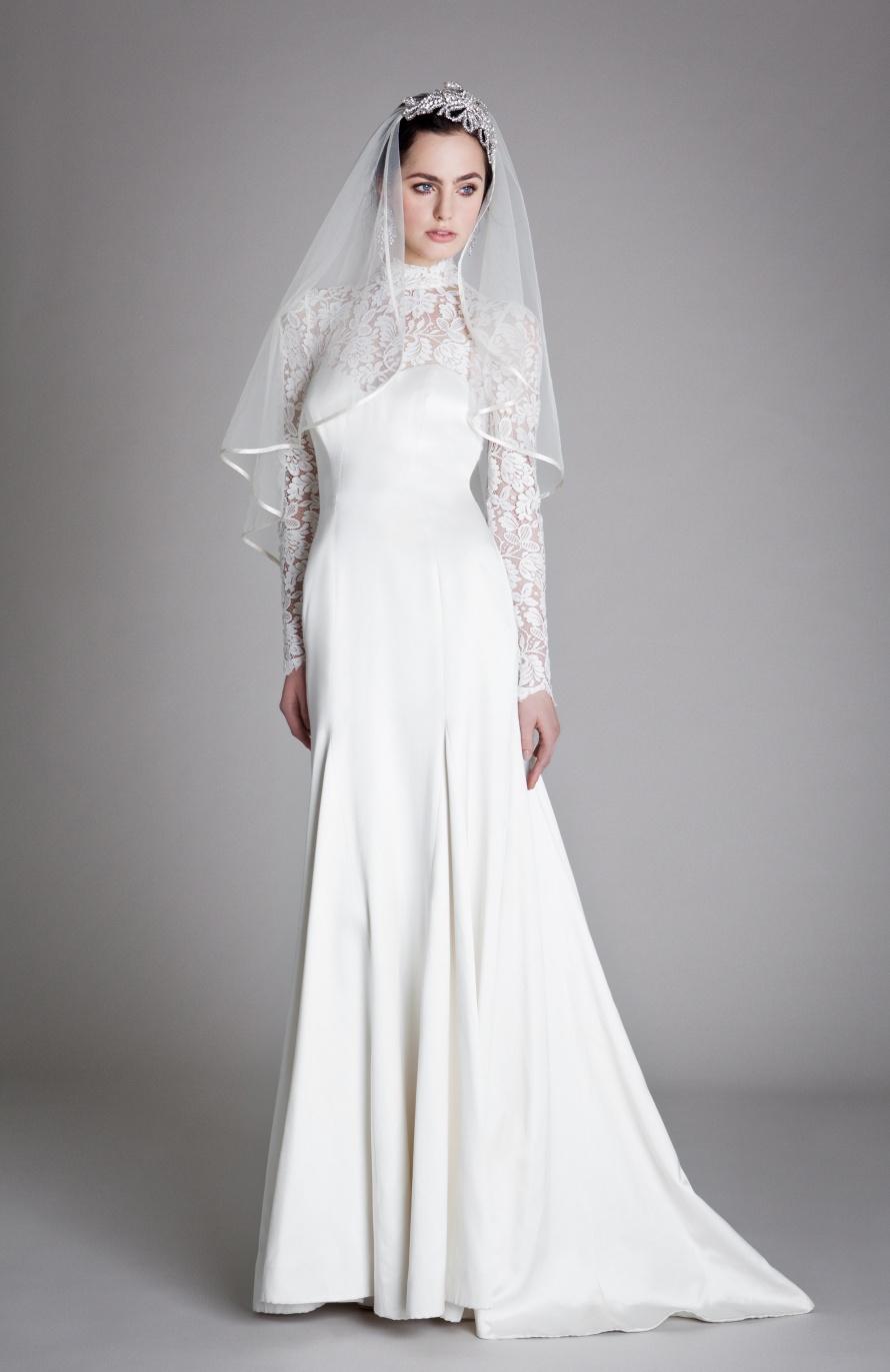 Victorian Inspired Vintage Wedding Dress