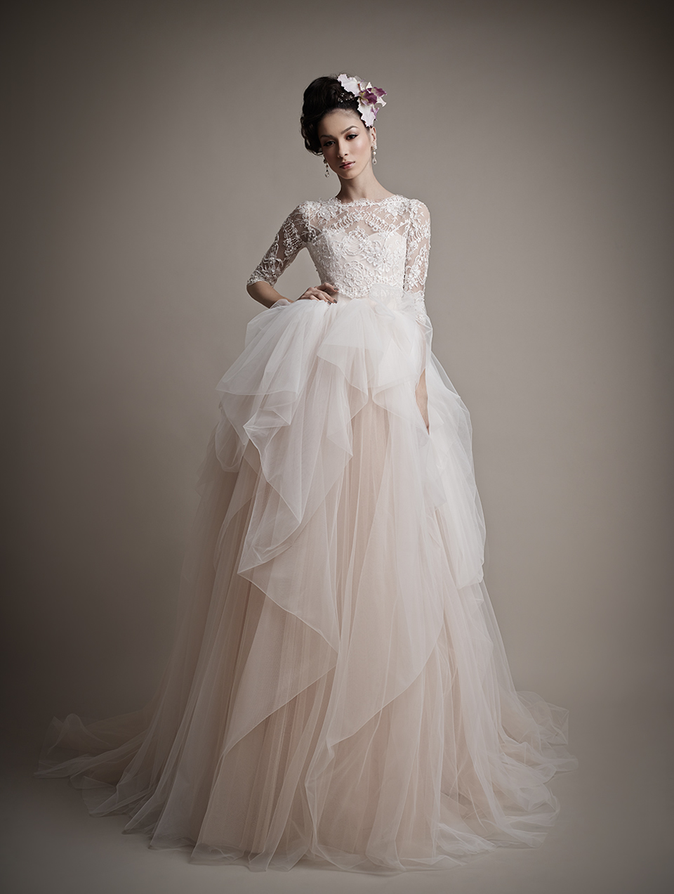 Ersa Atelier's 2015 Bridal Collection - Amina Wedding Dress