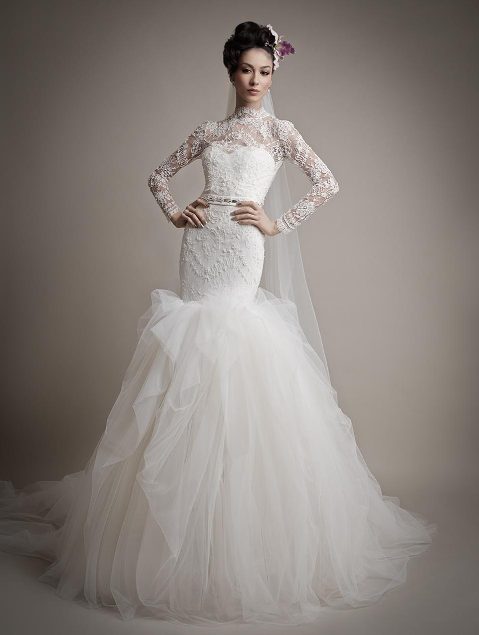 Ersa Atelier's 2015 Bridal Collection - Catherina Wedding Dress