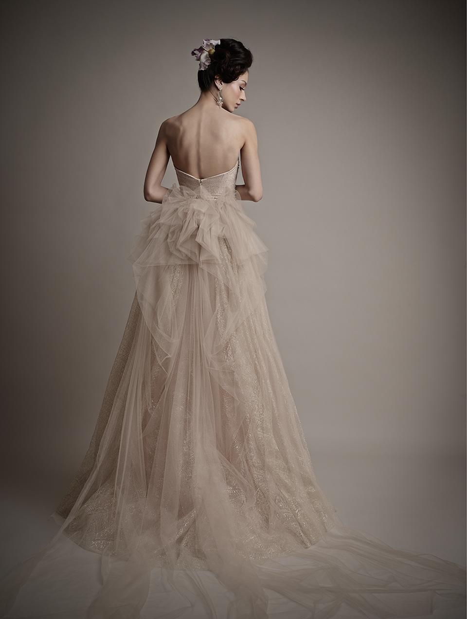 Ersa Atelier's 2015 Bridal Collection - Tania Blush Wedding Dress