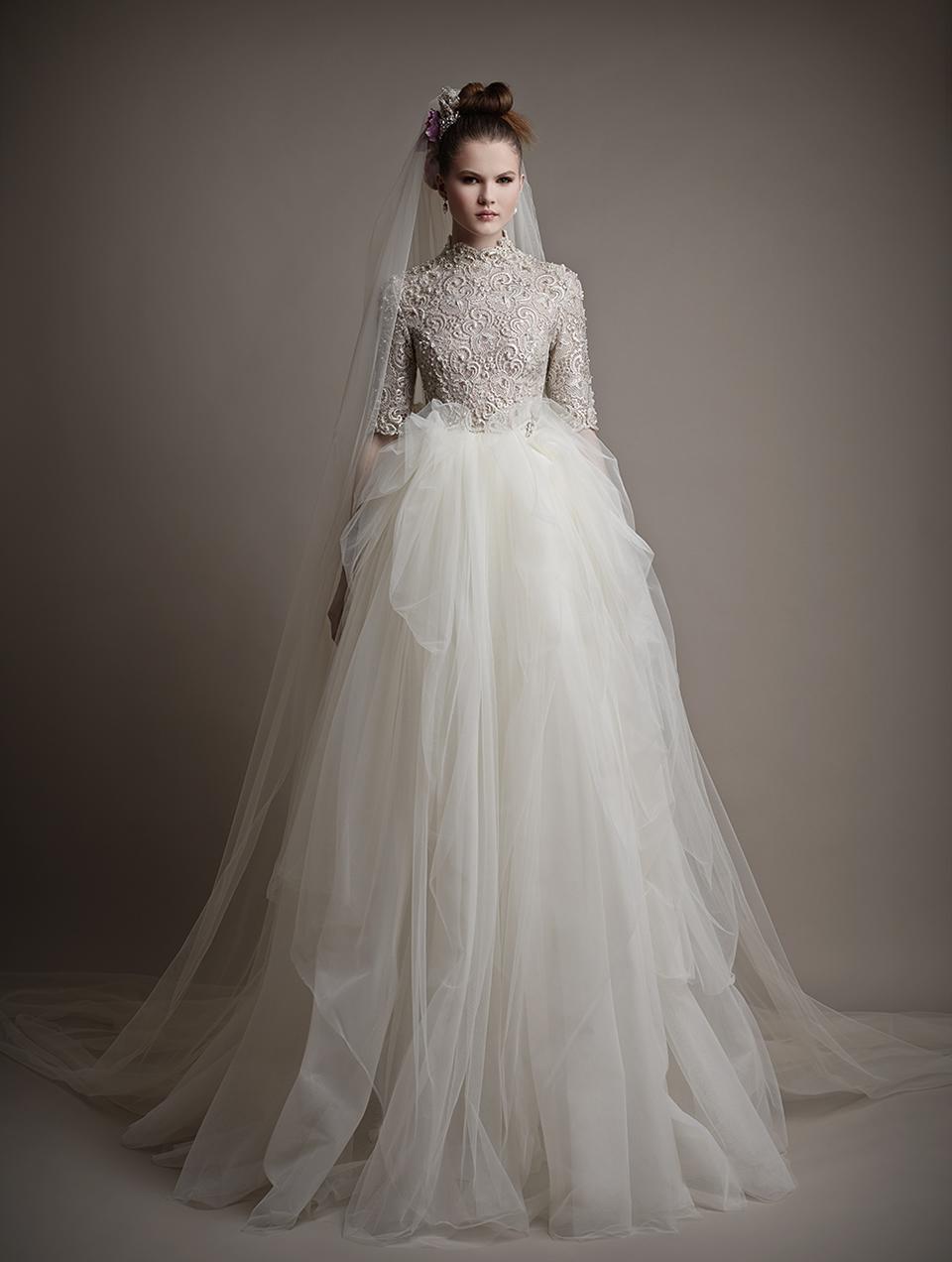 Ersa Atelier's 2015 Bridal Collection - Wilhelmina Wedding Dress